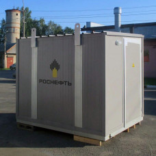 Блок-контейнер утепленный 3,0х2,1х2,4 м (ДхШхВ)