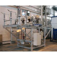 Пункт коммерческого учета электроэнергии ПКУ-35 кВ 3ТТ-3ТН У1, закрытое исполнение